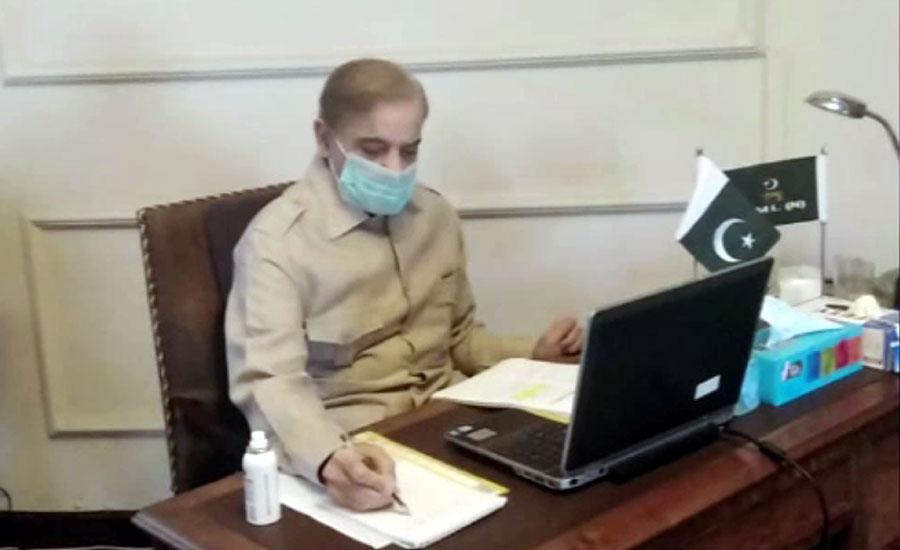 شہباز شریف کا طبی سامان کی فراہمی پر چینی صدر اور وزیراعظم سے اظہار تشکر