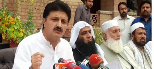 قافلے ، مرنے والی خاتون ، شوگر کی مریض ، اجمل وزیر ، میڈیا سے گفتگو ، پشاور ، 92 نیوز