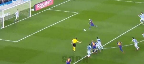اسپینش فٹبال لیگ ، اسٹار فٹبالر ، لیونل میسی ، بارسلونا ، پوائنٹس ٹیبل ، پہلی پوزیشن