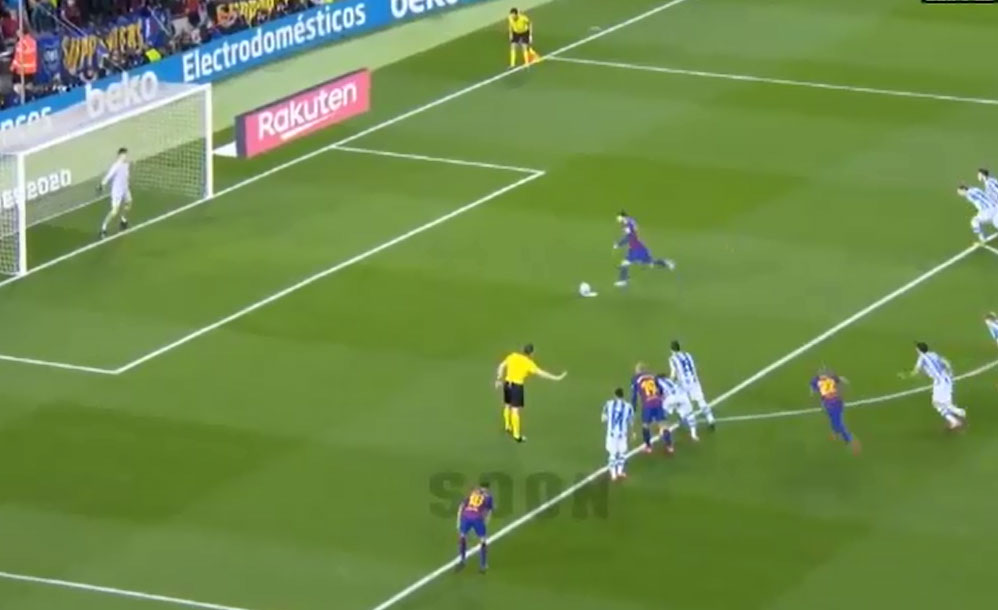 اسپینش فٹبال لیگ ، لیونل میسی نے بارسلونا کو پوائنٹس ٹیبل پر پہلی پوزیشن دلا دی