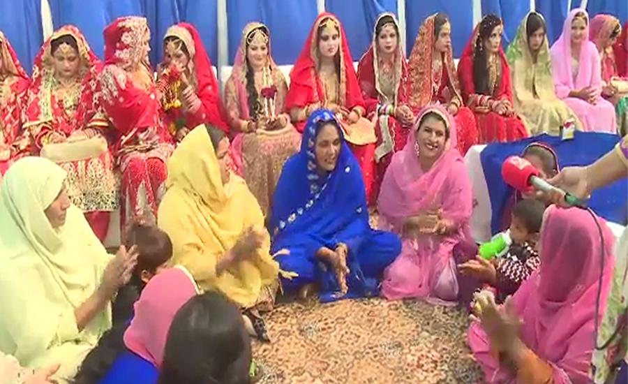 مدینہ فاؤنڈیشن کی جانب سے 50جوڑوں کی اجتماعی شادی کی تقریب