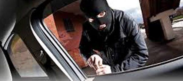 car theft گاڑی چوری ای چیک پوسٹیں لاہور ویب ڈیسک  آئی جی پنجاب