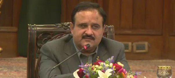 وزیراعلیٰ پنجاب ، عثمان بزدار ، کورونا ، تشخیصی ٹیسٹ ، استعداد ، روزانہ 10 ہزار ، بڑھانے ، اعلان