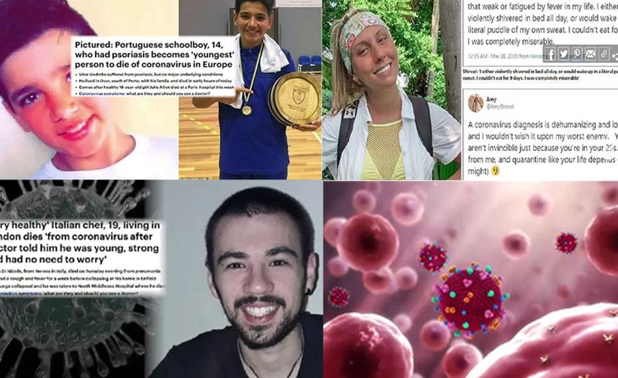 کورونا وائرس سے بچنے کیلئے بڑی عمر والوں کے ساتھ نوجوانوں کو بھی احتیاط کی ضرورت