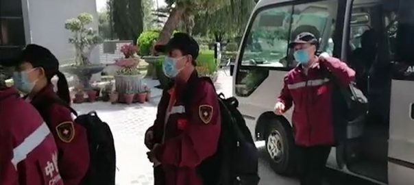 چینی طبی ماہرین ، قومی ادارہ صحت ، دورہ ، انسداد کورونا ، بریفنگ ، اسلام آباد ، 92 نیوز
