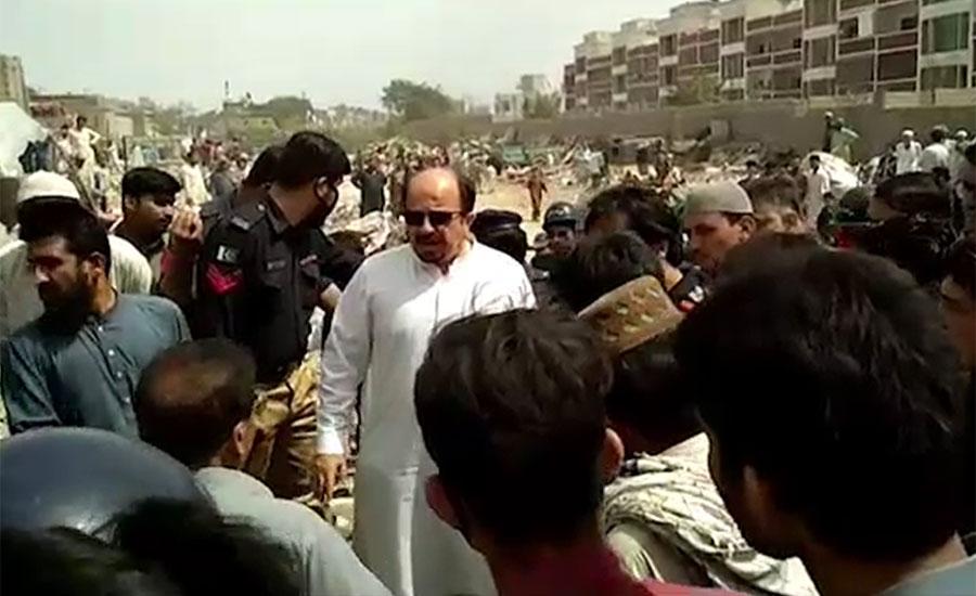 کراچی سرکلر ریلوے کی بحالی کا حکم ، فردوس شمیم نے آج پھر آپریشن رکوا دیا