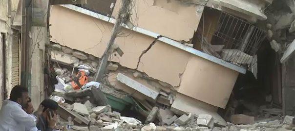 سانحہ گولیمار، زمین بوس ، عمارت ، بلڈر جاوید ، فیصل آباد ، گرفتار