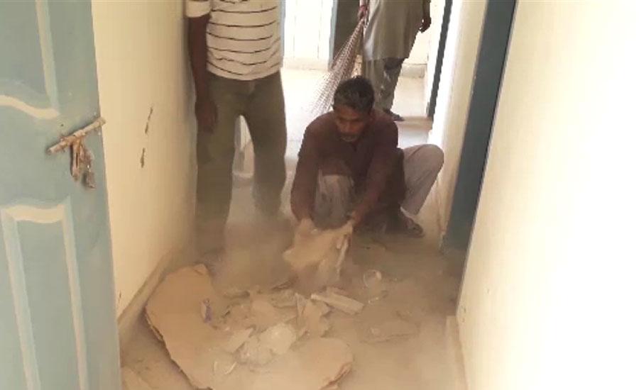 حیدرآباد، قرنطینہ سنٹر میں صفائی عملہ سہولیات سے محروم