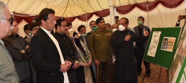 وزیراعظم ، ڈیرہ غازی خان ، دورہ ، کورونا ، مشتبہ مریضوں ، قرنطینہ مرکز ، معائنہ