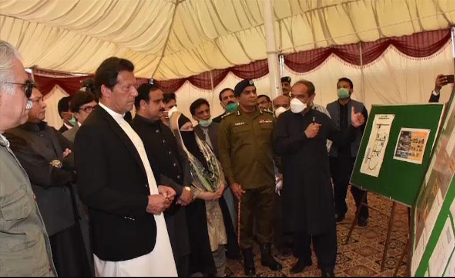 وزیراعظم کا ڈیرہ غازی خان کا دورہ ، کورونا کے مشتبہ مریضوں کے قرنطینہ مرکز کا معائنہ