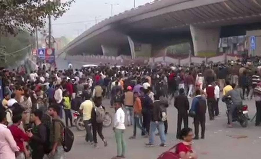 نئی دہلی فسادات میں پولیس نے جان بوجھ کر مسلمانوں کو ٹارگٹ کیا ، امریکی اخبار