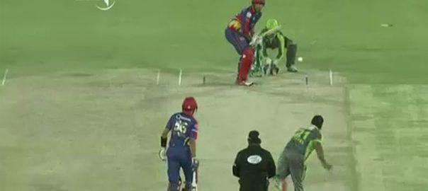 کراچی کنگز ، لاہور قلندرز ، 10 وکٹوں ، شکست