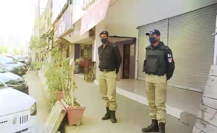 سندھ میں مکمل لاک ڈاؤن کا آج دوسرا روز، نظام زندگی معطل