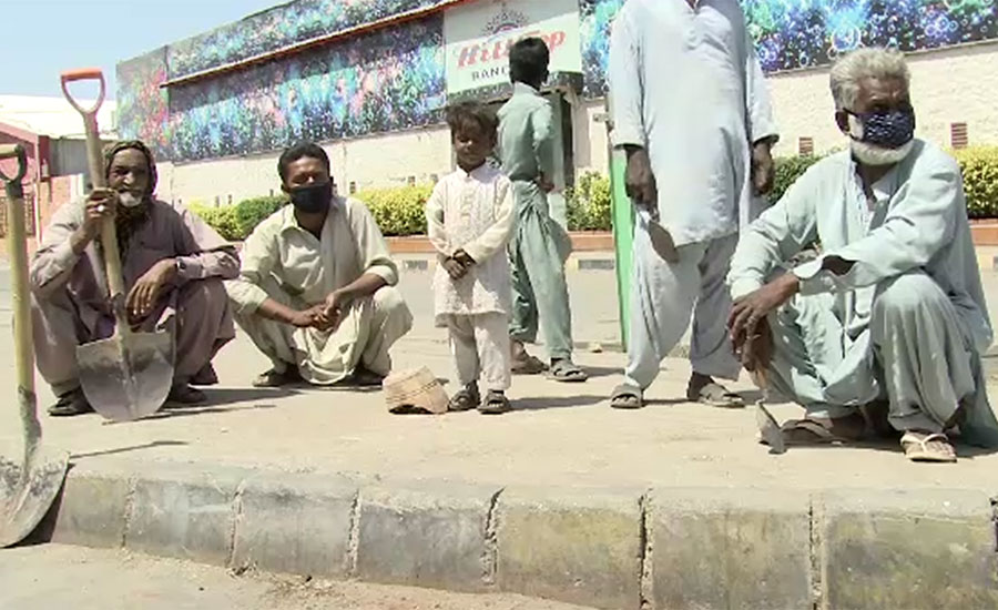 سندھ میں لاک ڈاؤن کا ساتواں دن ، سڑکوں پر ٹریفک نہ ہونے کے برابر