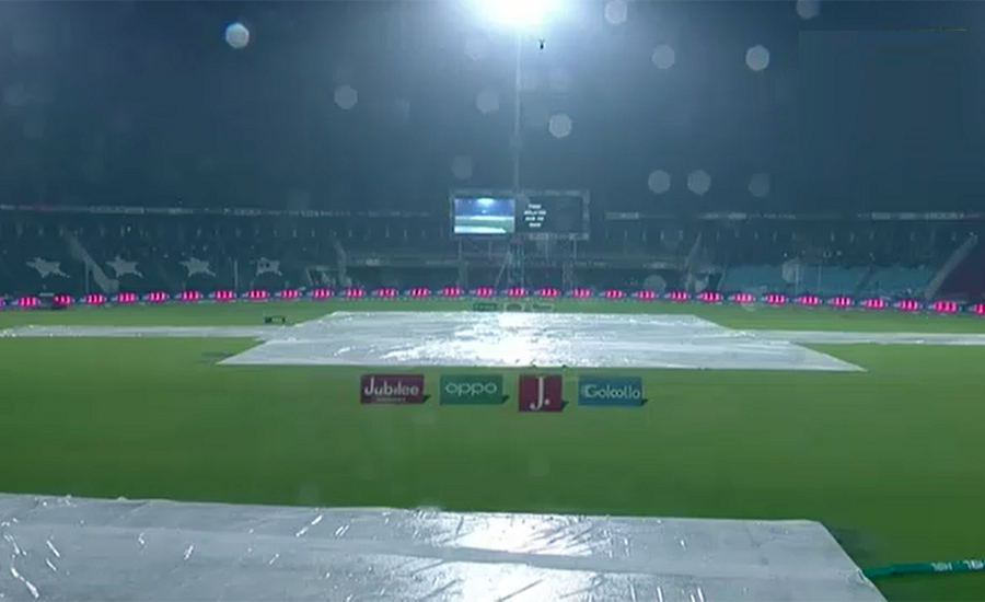 ملتان سلطانز اور کوئٹہ گلیڈی ایٹرز کے درمیان کھیلا جانے والا میچ بارش کے باعث منسوخ