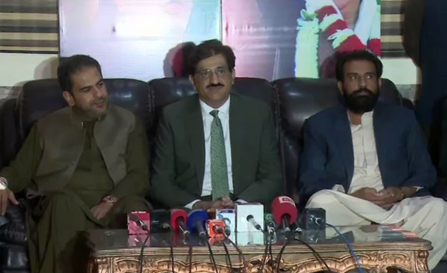 ہر سیاسی جماعت کو پورا حق حاصل ہے سندھ میں اپنے تنظیمی معاملات کو دیکھیں ، مراد علی شاہ