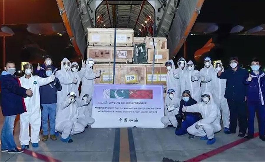 پاک فضائیہ کا مال بردار طیاروں کا بیڑا کورونا وائرس کیخلاف جنگ میں متحرک