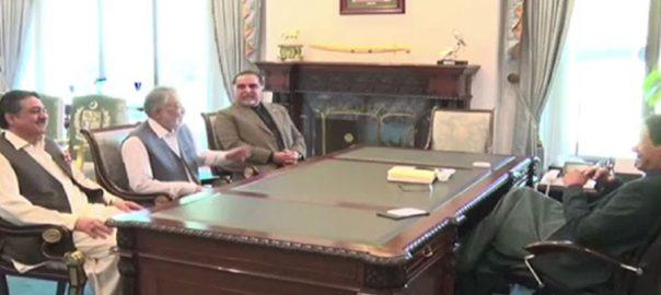 وزیراعظم ، پیر پگارا ، ملاقات ، سندھ ، مجموعی صورتحال ، ترقیاتی امور ، تبادلہ خیال
