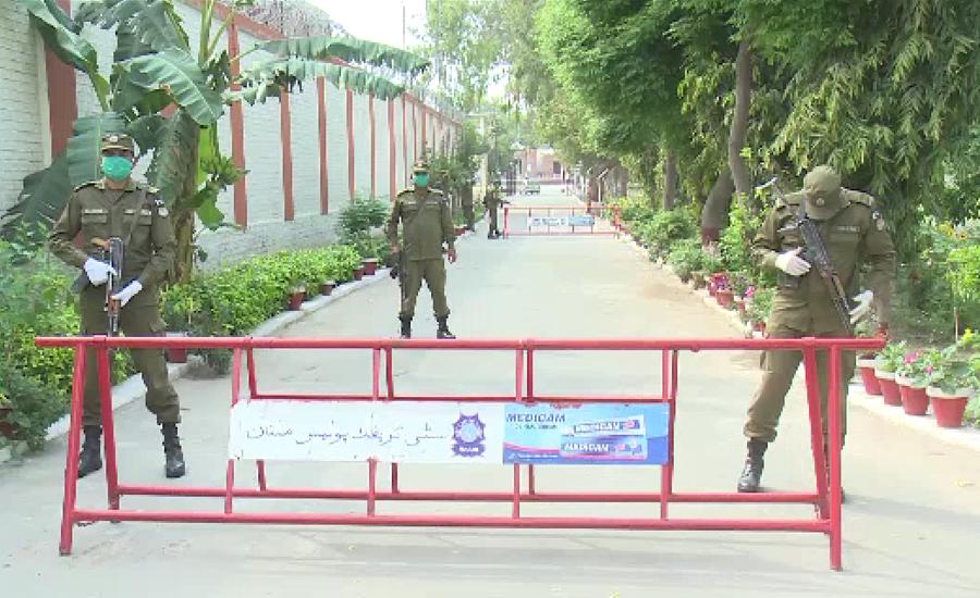 کورونا وائرس کے خلاف پنجاب پولیس بھی متحرک