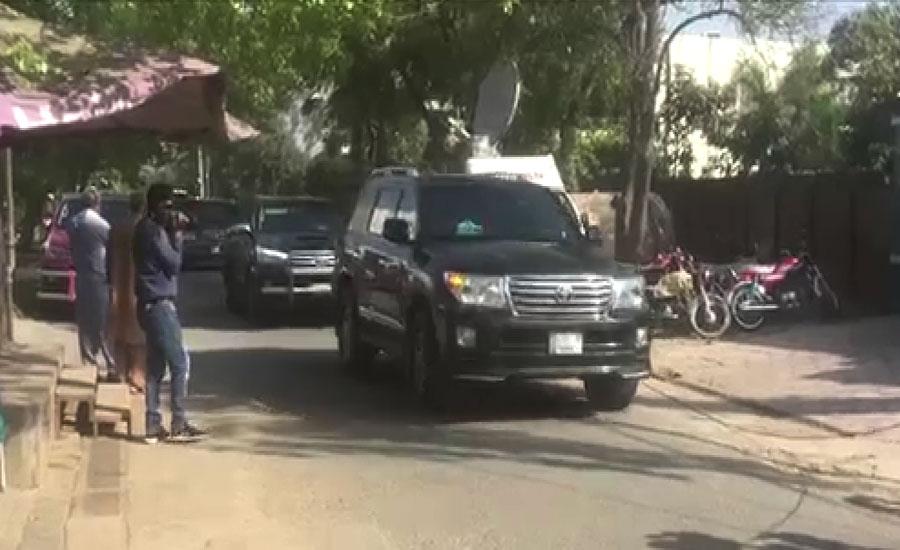 شہباز شریف اسلام آباد سے لاہور پہنچ گئے، ماڈل ٹاؤن رہائش گاہ پر خود کو قرنطینہ کر لیا