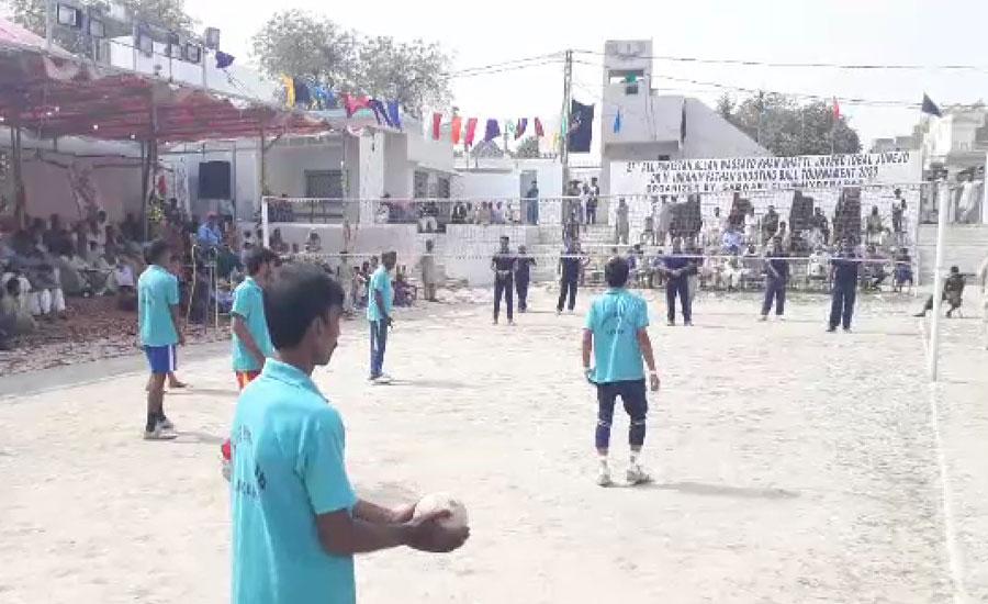 حیدرآباد میں آل پاکستان شوٹنگ بال ٹورنامنٹ کا انعقاد، 70 ٹیمیں شریک