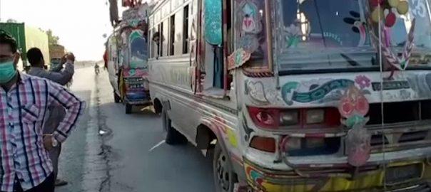 پابندی ، سندھ ، لوگوں ، پنجاب آمد ، سلسلہ جاری ، لاہور ، 92 نیوز