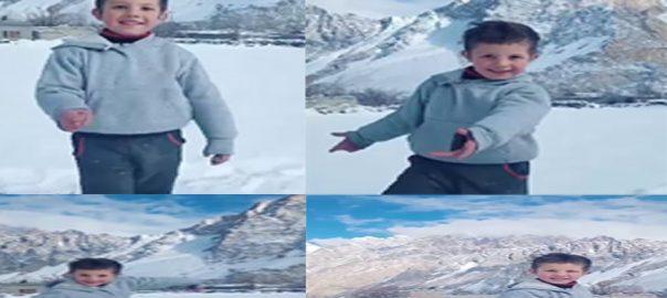 شمالی ، علاقہ جات ، برف پوش پہاڑ ، ڈانس ، پاکستانی ، بچہ ، یونیسف ، بھا