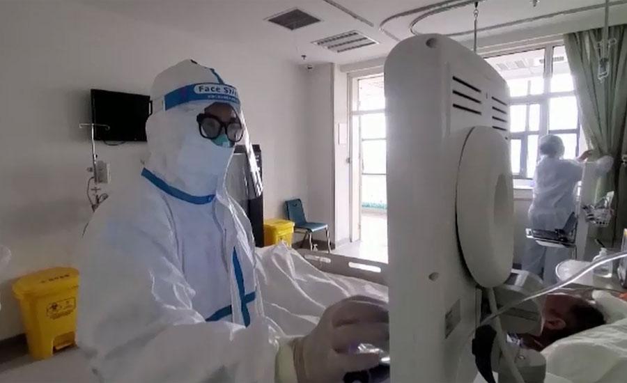چین کے شہر ووہان میں کورونا وائرس کے تمام مریض اسپتالوں سے ڈسچارج