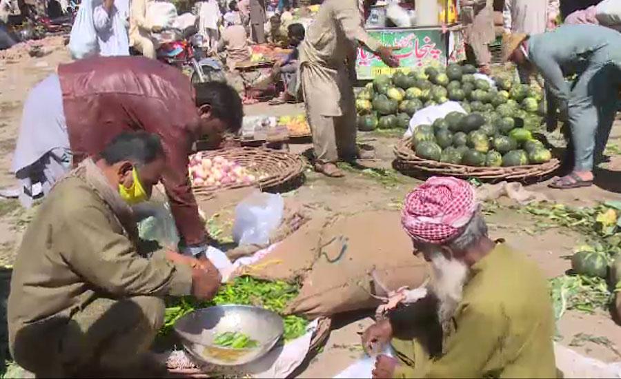 فیصل آباد کی سبزی منڈیوں میں کورونا سے بچاؤ کے انتہائی ناقص انتظامات