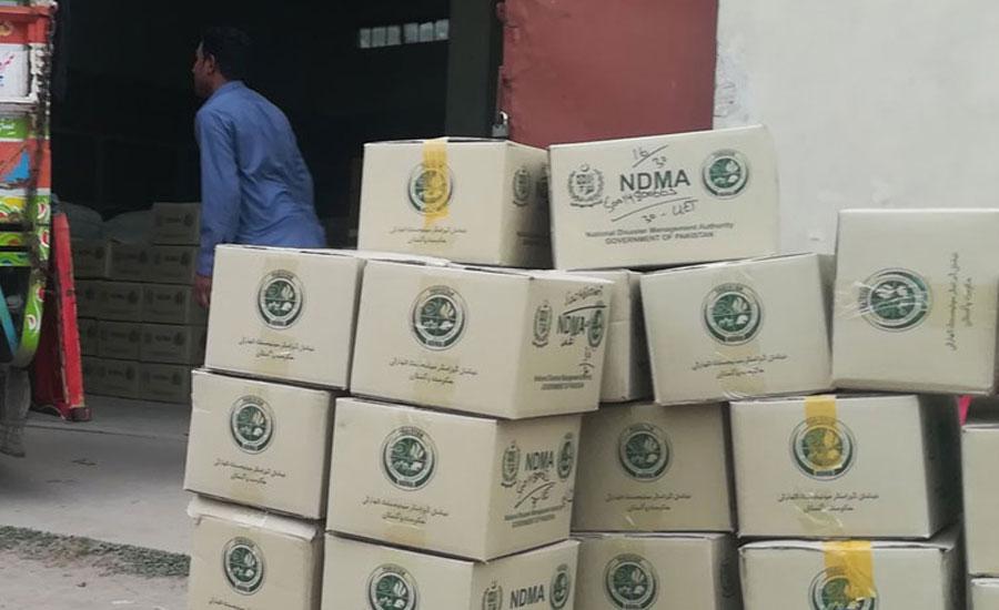 اسپتالوں کے ڈاکٹروں اور طبی عملہ کے لیے حفاظتی سامان کی چوتھی کھیپ کی ترسیل جاری