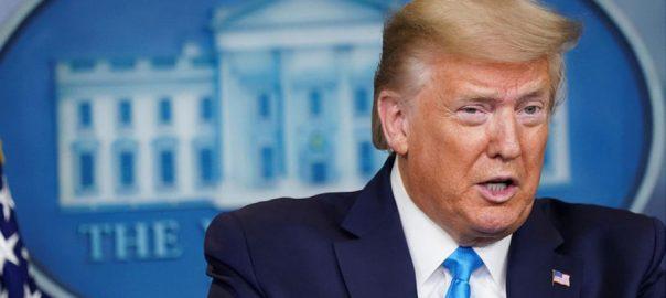 امریکی صدر ، ڈونلڈ ٹرمپ ، ورلڈ ہیلتھ آرگنائزیشن ، فنڈز ، روکنے ، اعلان