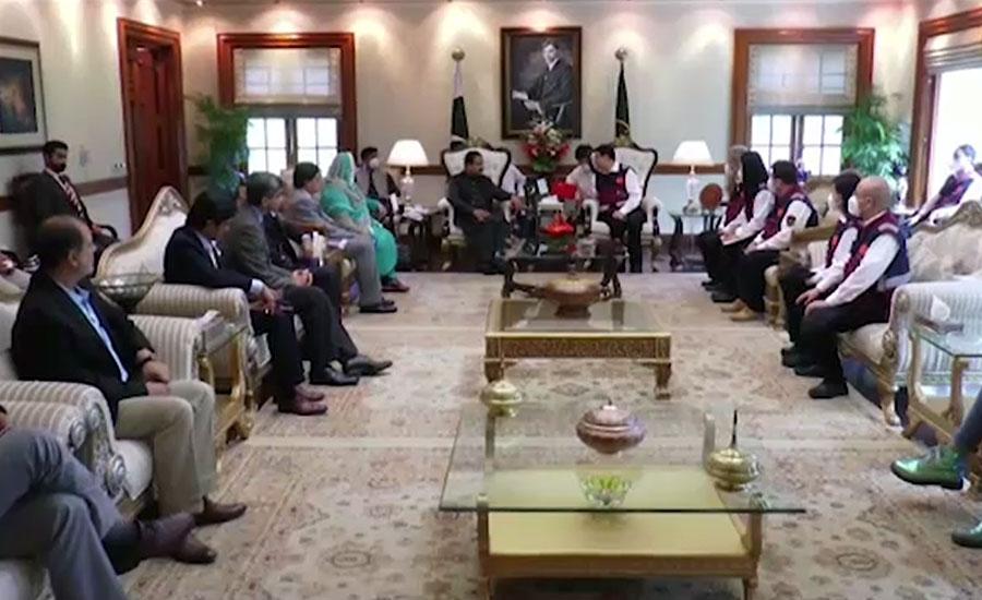 وزیراعلیٰ پنجاب اور چینی ڈاکٹروں کا کورونا وائرس سے نمٹنے کیلئے مشترکہ کاوشوں پر اتفاق