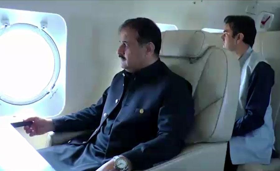 وزیراعلیٰ بزدار کا ملتان، ساہیوال، کمالیہ، میاں چنوں اور لاہور کا فضائی دورہ