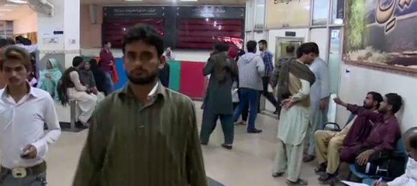 کراچی ، عام مریضوں ، انتقال ، شرح ، بڑھ