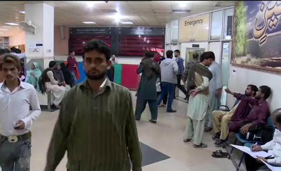 کراچی میں عام مریضوں کے انتقال کی شرح بڑھ گئی