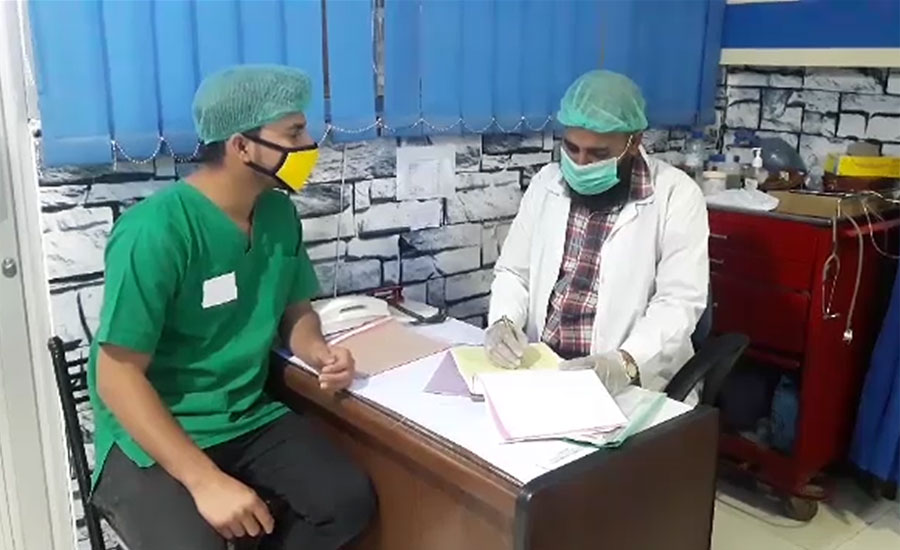 کراچی ، عباسی شہید اسپتال کے عملے میں کورونا کی تشخیص پر ایمرجنسی بند