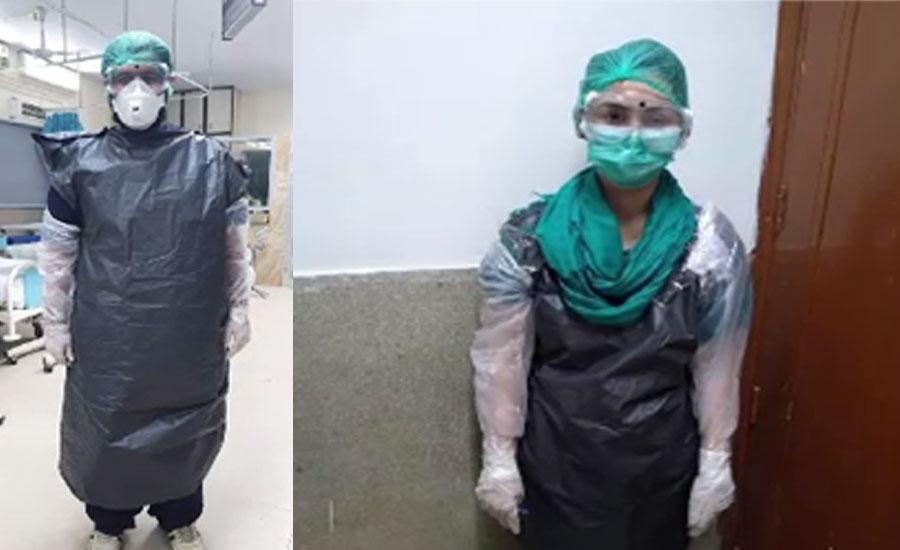 سندھ کے بیشتر اسپتالوں میں طبی عملہ حفاظتی سامان سے ہی محروم