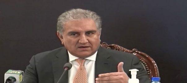 ہاتھ ، کشکول ، فیصلے ، آزادانہ ، وزیر خارجہ ، شاہ محمود قریشی