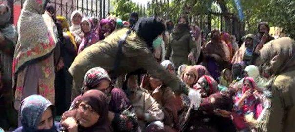 احساس پروگرام ، فیصل آباد ، مستحق خواتین ، دوسرے روز ، رقوم کی تقسیم ، 92 نیوز