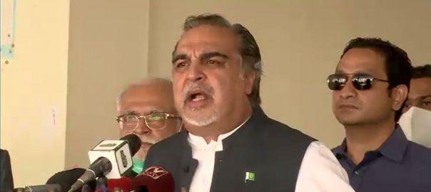 وفاقی حکومت ، سندھ ، زیادہ تعاون ، گورنر عمران اسماعیل ، میڈیا سے گفتگو ، کراچی ، 92 نیوز
