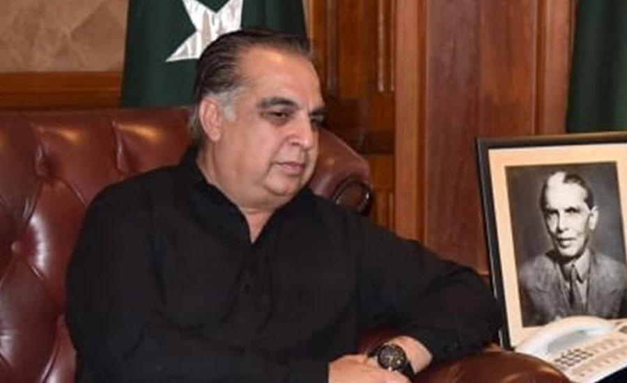 گورنر سندھ کا دوسرا کورونا ٹیسٹ بھی مثبت آ گیا