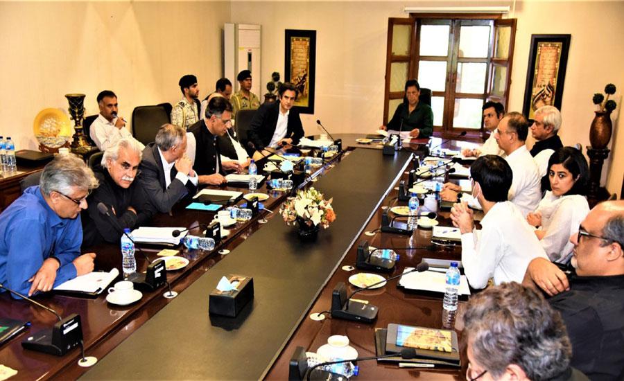 وزیراعظم کی زیر صدارت اجلاس ، کورونا وائرس کی روک تھام کیلئے اقدامات پر تبادلہ خیال