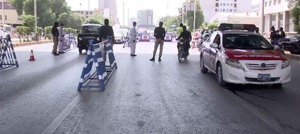 سندھ ، موٹرسائیکل ، ڈبل سواری ، مکمل پابندی عائد ، کراچی ، 92 نیوز