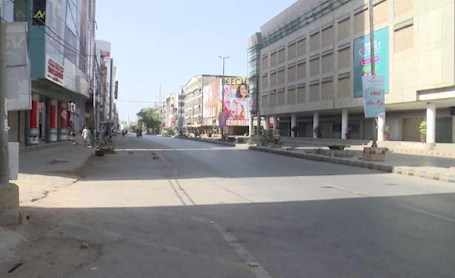 سندھ حکومت کا کاروباری سرگرمیاں مشروط بحال کرنے پر غور