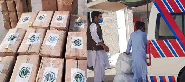 خیبرپختونخوا ، 12 اسپتالوں ، ضروری حفاظتی سامان ، تقسیم ، ڈی جی پی ڈی ایم اے ، پشاور ، 92 نیوز