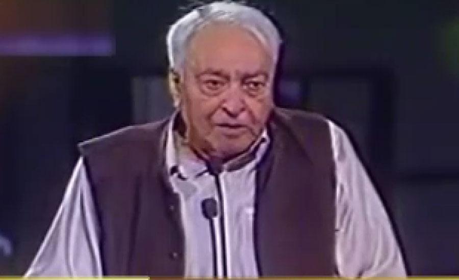 ممتاز شاعر منیر نیازی کا آج 92 واں یوم پیدائش منایا جا رہا ہے