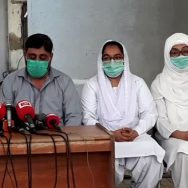 کورونا ، بچنے ، سامان فراہم کیا جائے ، نرسز ، مطالبات ، کراچی ، 92 نیوز