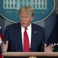 کورونا سے بچنا ، اسکارف پہن لیں ، ٹرمپ ، خاتون رپورٹر ، جواب ، واشنگٹن ، 92 نیوز