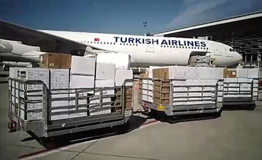 ترکی کی جانب سے پاکستان کو ڈاکٹروں کیلئے حفاظتی اشیا کا عطیہ