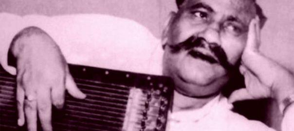 کلاسیکی موسیقی ، بے تاج بادشاہ ، استاد ، بڑے غلام علی خاں ، انتقال ، باون برس ، بیت